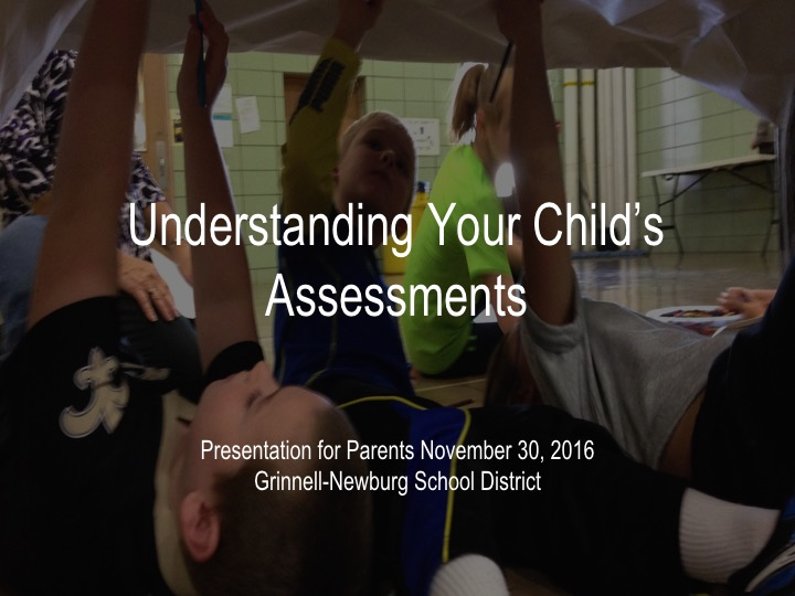 Understanding Your Child's Assessments